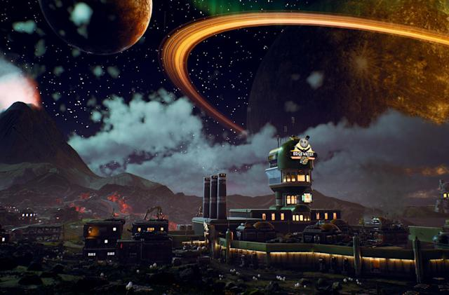 Where 'The Outer Worlds' gets its sense of humor