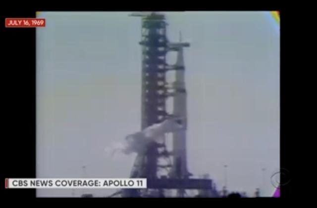 Watch CBS livestream the original 1969 Apollo 11 launch broadcast