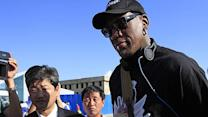 Dennis Rodman in North Korea to visit his 'friend' Kim Jong Un