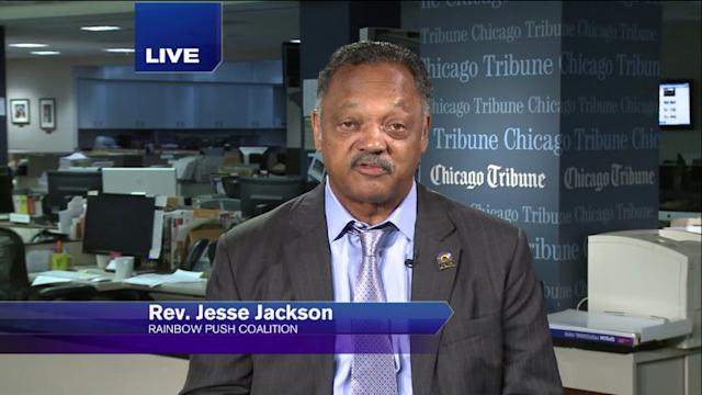 Rev. Jesse Jackson on pushing for more action against gun violence