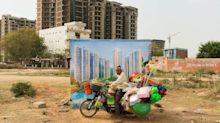 A photo series asks who India's booming cities are really made for