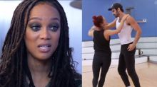 Tyra Banks Visits Nyle DiMarco on 'DWTS'; Things Get Emotional