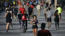 Spaniards allowed to exercise outside for first time in seven weeks