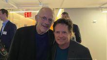 """""""Ritorno al futuro"""": Christopher Lloyd e Michael J. Fox di nuovo insieme"""