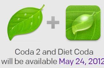 Coda 2 for Mac, Diet Coda for iPad available May 24