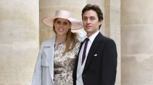 Princess Beatrice and Edo release wedding photos with Queen after secret ceremony