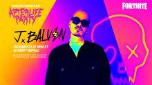 'Fortnite' will host a Halloween 'cross reality' concert for singer J Balvin