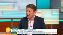 Bill Turnbull agrees to co-host 'Good Morning Britain' with Susanna Reid in emotional reunion