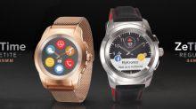 MyKronoz, la marque Suisse de wearables annonce la disponibilité de sa montre connectée hybride ZeTime Petite à l'occasion du CES 2018