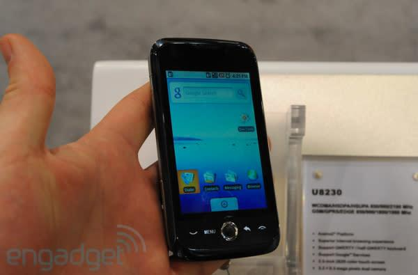 Huawei U8230 quick hands-on