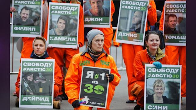 Greenpeace: Russia Actions Among Worst 'assaults'