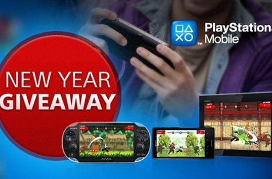 PlayStation Mobile's 'New Year giveaway' offering six free titles over six weeks
