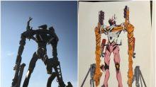 《Evangelion新劇場版》終章新情報 「8号機初期検討用モデル」現身