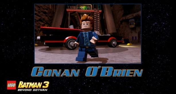 Conan O'Brien, Daffy Duck and more join LEGO Batman 3