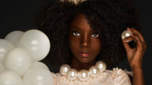 10-year-old designer bullied for her dark skin stuns in incredible photo shoot