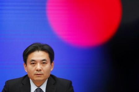 Yang Guang attends a news conference on the current situation in Hong Kong, in Beijing