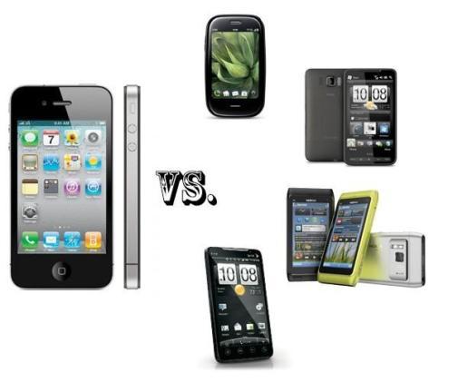 iPhone 4 vs. the smartphone elite: EVO 4G, N8, Pre Plus, and HD2