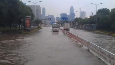 Typhoon Fitow Brings Flooding to Ningbo, China