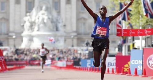 Athlé - Marathon de Londres - Daniel Wanjiru remporte le marathon de Londres devant Kenenisa Bekele