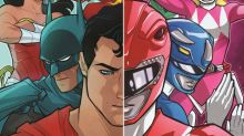 Justice League and Power Rangers get comic book crossover