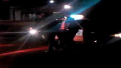 Raw Video: Police Make Arrest After High-Speed Chase