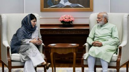 BJP Dumps PDP, Mehbooba Mufti Steps Down As J&K Chief Minister