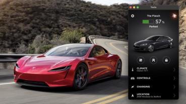 全世界最大的車鑰匙是它:蘋果筆電竟能用 APP 開特斯拉?!