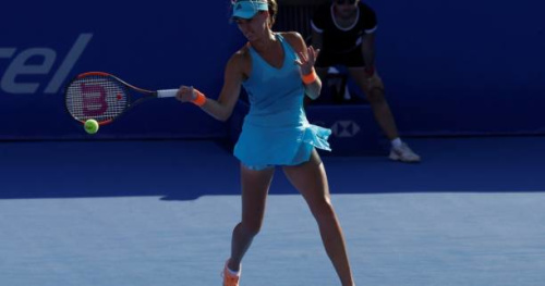 Tennis - WTA - Indian Wells - Kristina Mladenovic : «Je me suis surprise moi-même»