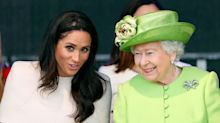 The Queen's Reaction to Meghan Markle's Baby News Is So Sweet