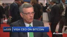 Visa CEO on bitcoin: People want a fair exchange of value