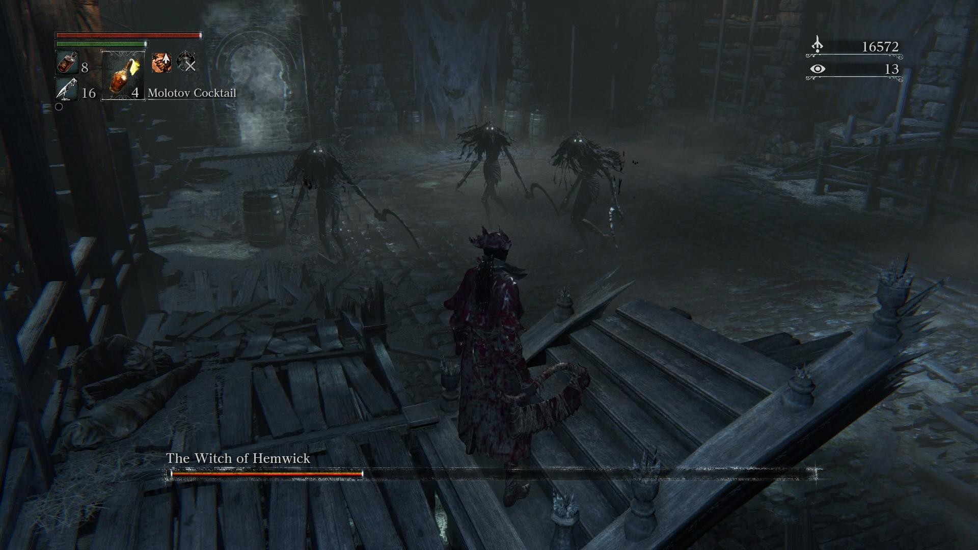 Bloodborne Boss Guide: How to Beat The Witches of Hemwick