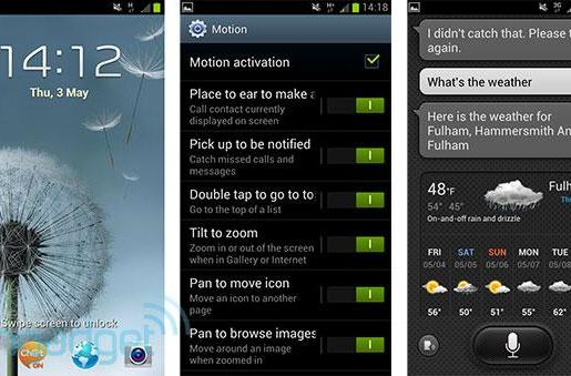 Samsung Galaxy S III software impressions (video)