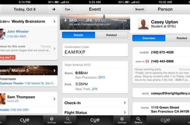 Apple acquires Cue, personal assistant app for the iPhone and iPad
