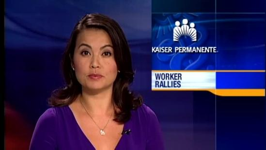 Kaiser Permanente workers protest working conditions