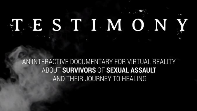 Testimony trailer screenshot