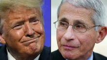 'La gente está cansada de todos estos idiotas': Trump estalla contra el doctor Fauci
