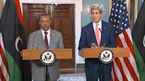 Kerry: U.S. committed to stand by Libya