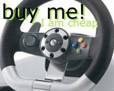 $104 wireless racing wheel spotted
