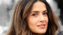 Salma Hayek's 8-Year-Old Daughter Often Does Mom's Makeup