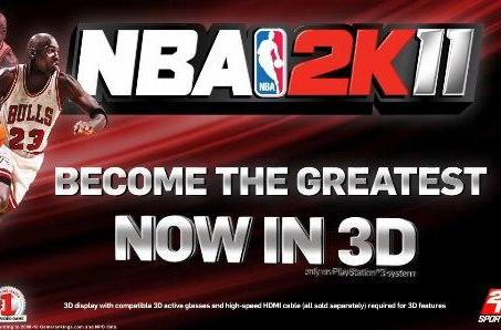 NBA 2K11 3D for PS3 launched as Best Buy timed exclusive today