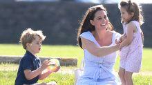 Kate Middleton se divierte con sus hijos