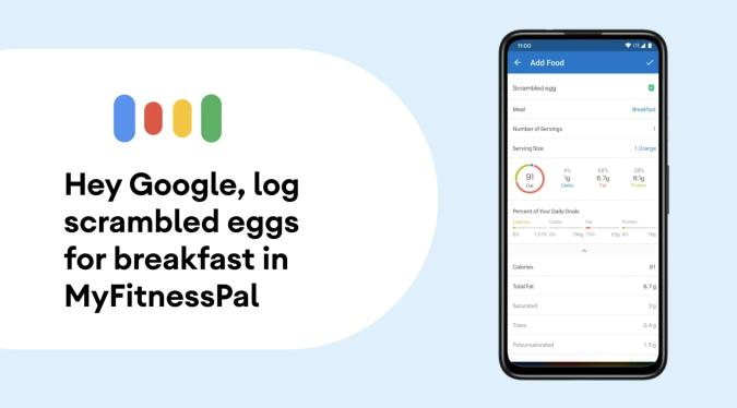 Google Assistant work with apps