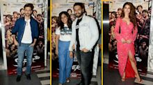 Pics: Hrithik, Disha, Richa Chadha Attend Screening of 'Super 30'