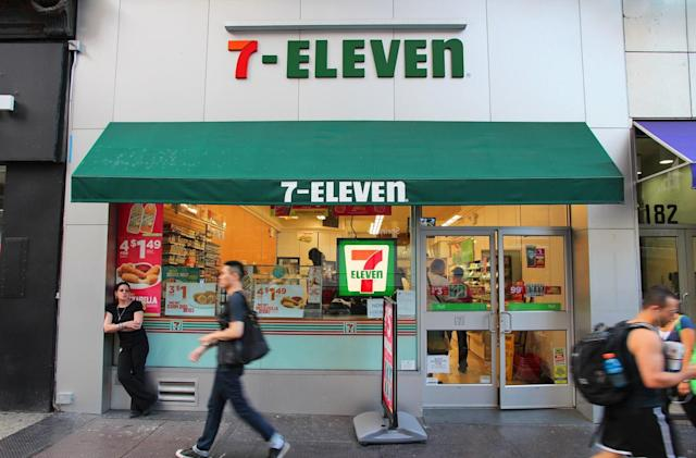 7-Eleven's cashier-free mobile checkouts are available in NYC