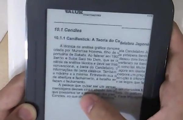 Hack enables fast refresh mode on Nook Simple Touch (video)