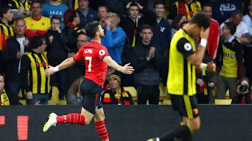 Watford 1 Southampton 1: Gray cancels out Long's record-breaking strike
