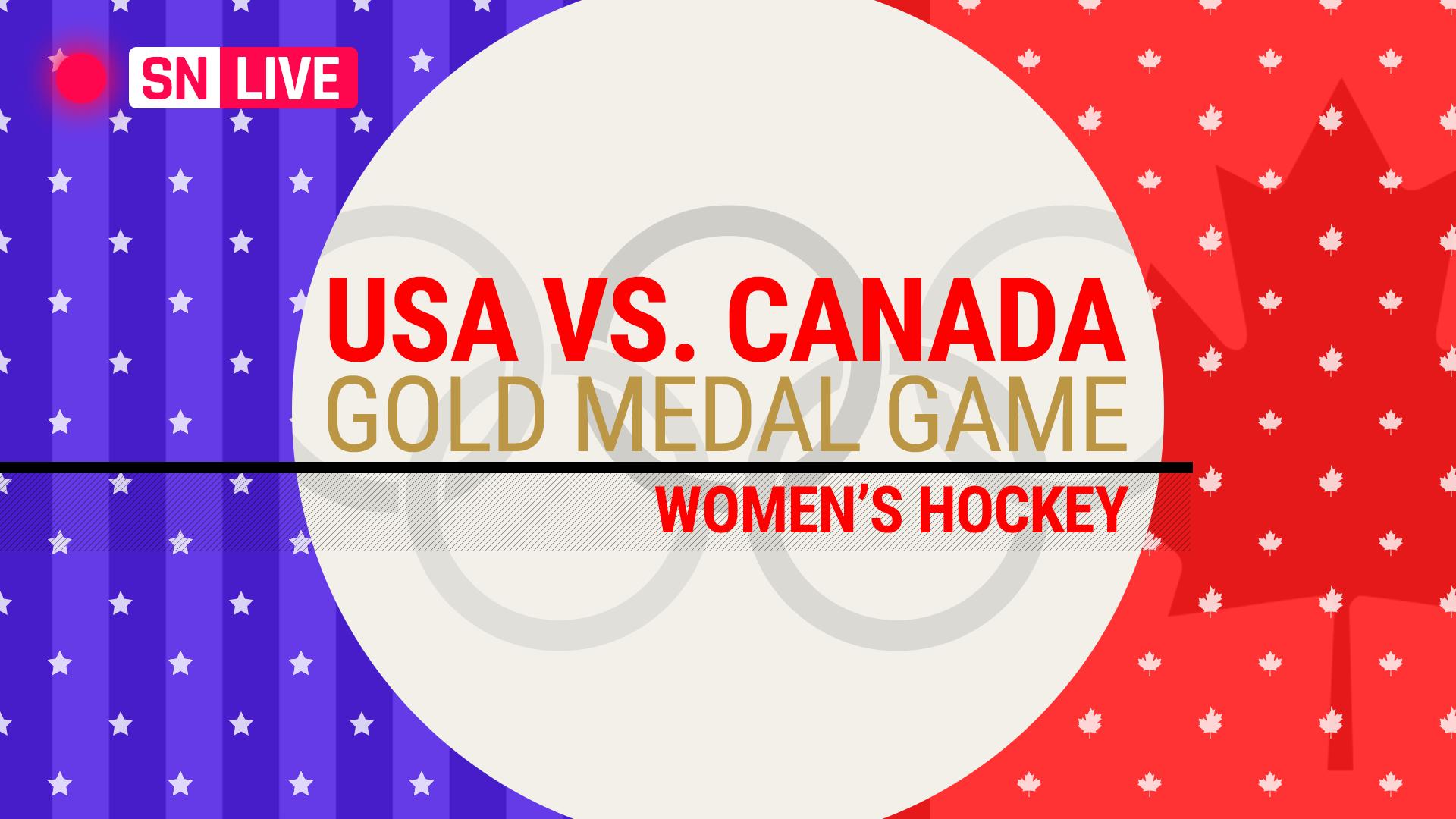Team Usa Snaps Canada U0026 39 S Streak  Wins First Olympic Women U0026 39 S