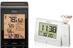 Oregon Scientific debuts solar-powered weather station and projection clock