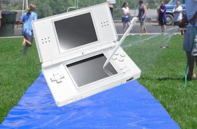 New DS game comes with slide controller attachment