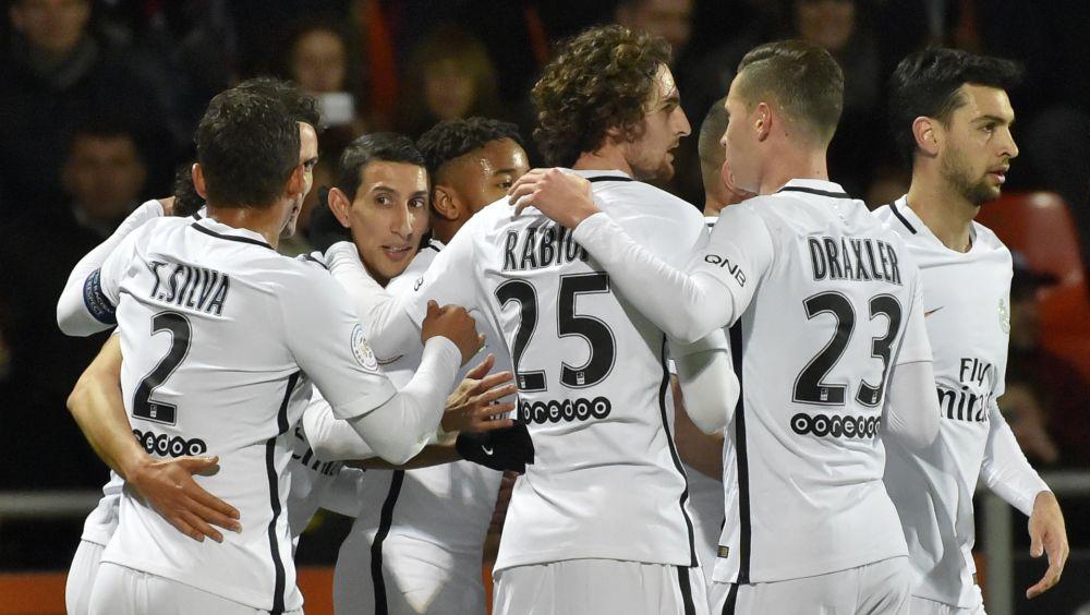 Lorient PSG Ligue 1 12032017